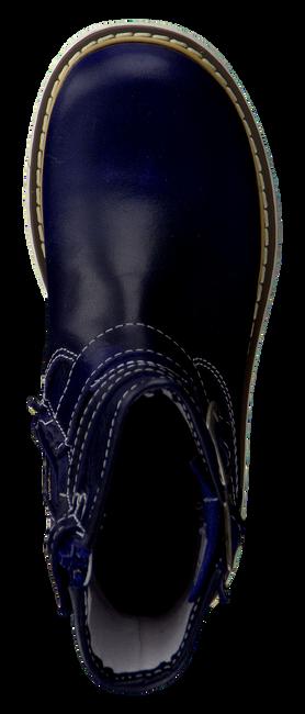 OMODA Bottes hautes 6878 en bleu - large