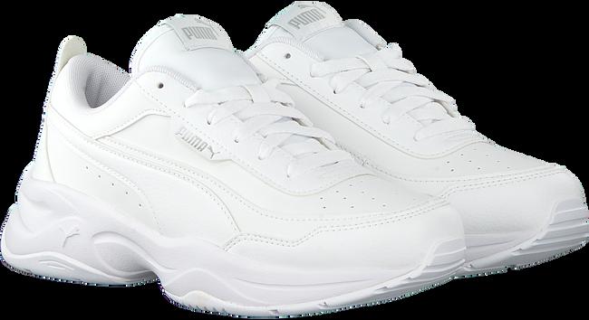 PUMA Baskets basses CILIA en blanc  - large