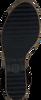 TOMMY HILFIGER Sandales TH RAFFIA HIGH WEDGE en noir  - small