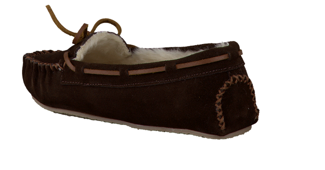 brown MINNETONKA shoe CALLY SLIPPER  - large