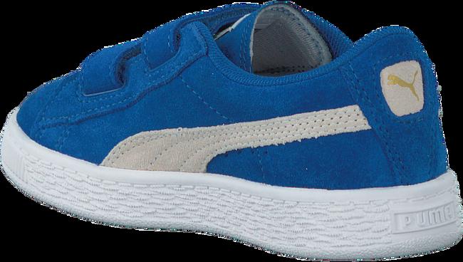Blauwe PUMA Sneakers SUEDE 2 STRAPS - large