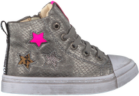Zilveren SHOESME Hoge sneaker SH20W020  - medium