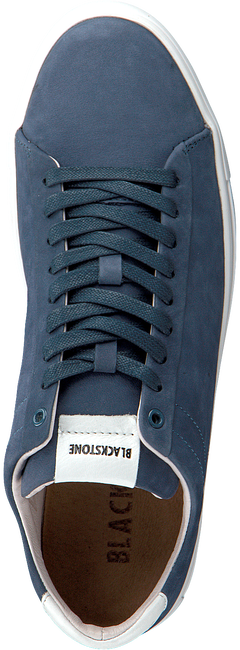 BLACKSTONE Baskets basses RM51 en bleu  - large