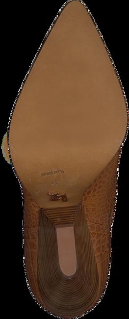 Cognac LOLA CRUZ Enkellaarsjes 059T45BK  - large