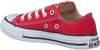 CONVERSE Baskets CTAS OX KIDS en rouge - small