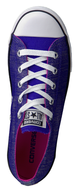 Paarse CONVERSE Sneakers AS EAST COASTER SHINE  - large
