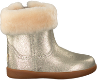 UGG Bottes fourrure JORIE II METALLIC en or  - medium