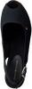 TOMMY HILFIGER Espadrilles ICONIC ELBA SLING BACK WEDGE en noir  - small