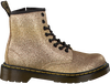 DR MARTENS Bottines à lacets DELANEY/BROOKLY en or - small