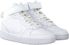 NIKE Baskets montantes COURT BOROUGH MID 2 (GS) en blanc  - small