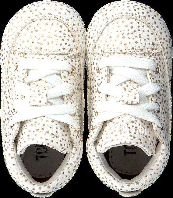 Witte TON & TON Babyschoenen OM120002  - large