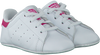 Witte ADIDAS Babyschoenen STAN SMITH CRIB  - small
