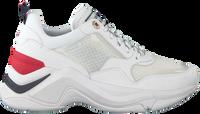 Witte TOMMY HILFIGER Lage sneakers INTERNAL WEDGE SPORTY  - medium