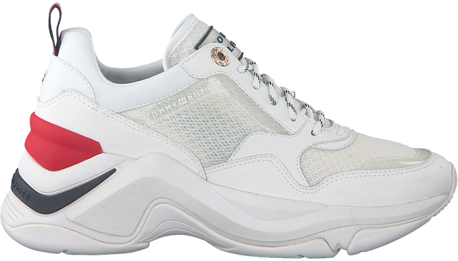 TOMMY HILFIGER Baskets basses INTERNAL WEDGE SPORTY en blanc  - large