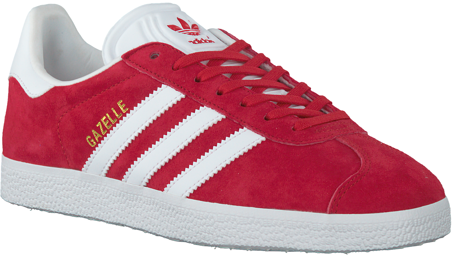 Rode ADIDAS Sneakers GAZELLE DAMES - Omoda.be