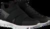 HUGO BOSS Baskets HYBRID RUNN KNTEL en noir - small