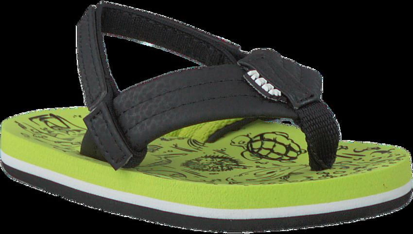 Groene REEF Slippers GROM REEF FOOTPRINTS  - larger