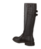 HIP Bottes hautes H1683 en marron - small