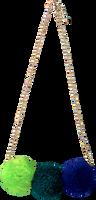 LE BIG Collier POOKY NECKLACE en bleu  - medium