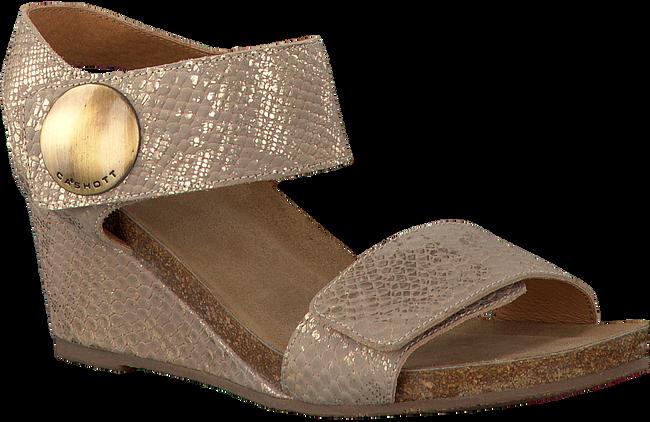 CA'SHOTT Sandales 8024 en beige - large