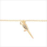 Gouden ATLITW STUDIO Armband SOUVENIR BRACELET PARROT - medium