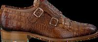 PERTINI Chaussures à enfiler 15216 en cognac  - medium