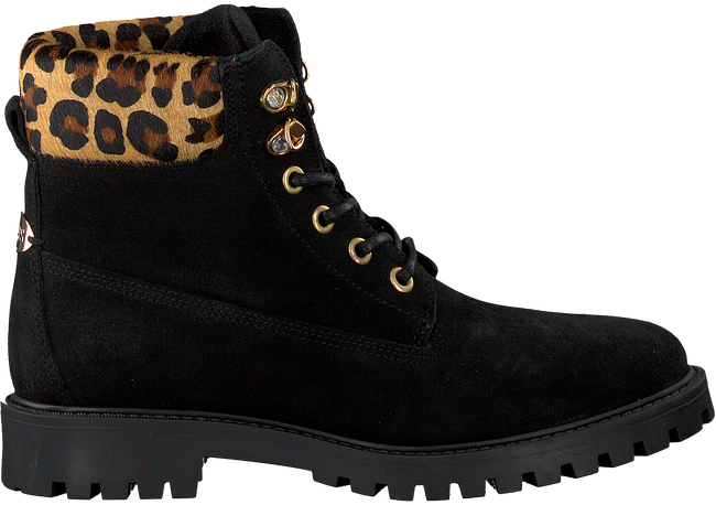 Zwarte GUESS Veterboots FLTMR3 SUE10  - large