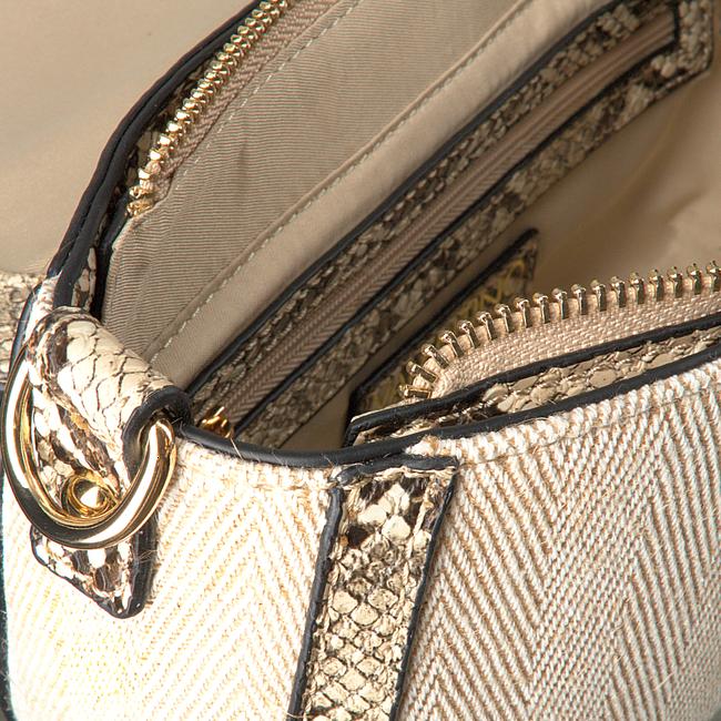 VALENTINO HANDBAGS Sac bandoulière GIGANTE SATCHEL en beige  - large