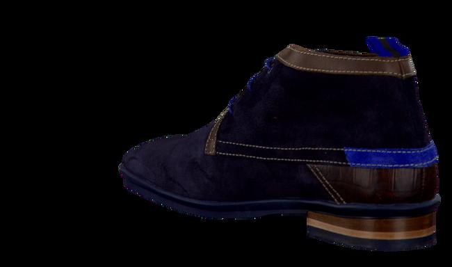 FLORIS VAN BOMMEL Richelieus 10334 en bleu - large