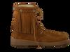 cognac MINNETONKA shoe PILE LINED TRAMPER BOOT  - small