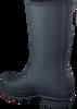 HUNTER Bottes en caoutchouc WOMENS ORIGINAL SHORT en bleu - small