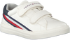 Witte TOMMY HILFIGER Lage sneakers LOW CUT VELCRO SNEAKER  - small
