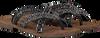 LAZAMANI Tongs 75.526 en noir - small