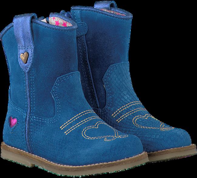 MIM PI Bottes hautes 1430 en bleu - large