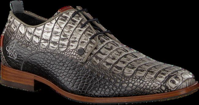 Grijze REHAB Nette schoenen GREG CROCO  - large