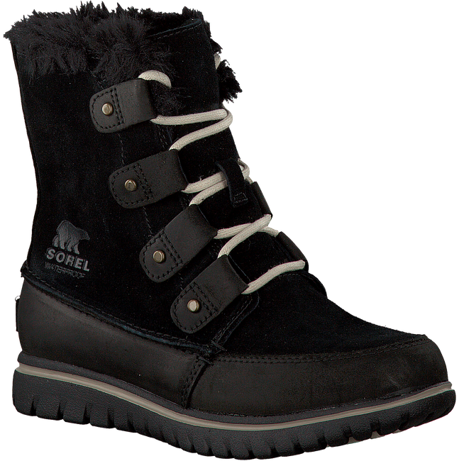 SOREL Bottillons COZY JOAN en noir - large