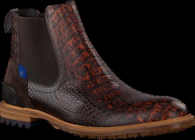 Bruine FLORIS VAN BOMMEL Chelsea boots 10230 - large