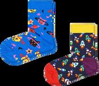 HAPPY SOCKS Chaussettes 2-PACK KIDS SPACE CAT en multicolore  - medium