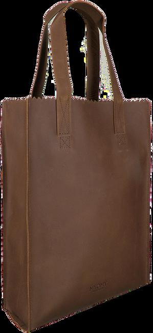 MYOMY Sac à main LONG HANDLE ZIPPER en marron  - large