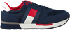 Blauwe TOMMY HILFIGER Lage sneakers LOW CUT LACE-UP T3B4-30482 - small