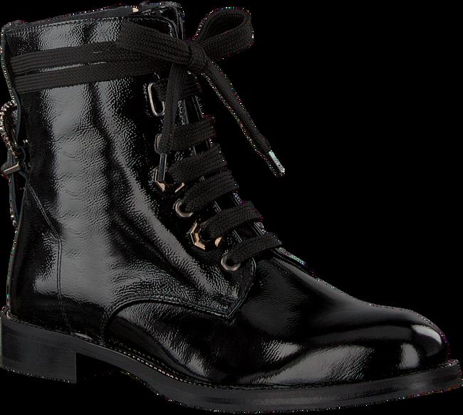 ROBERTO D'ANGELO Bottines à lacets 8418 en noir - large