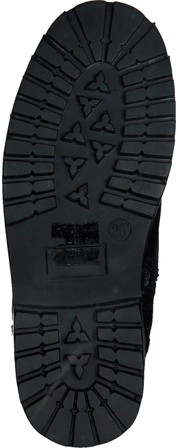 OMODA Bottines à lacets 541 en noir - large