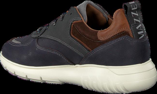 MAZZELTOV Chaussures à lacets MNAGO105.02OMO1 en bleu  - large