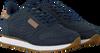 Blauwe WODEN Lage sneakers YDUN CROCO  - small