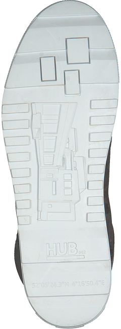 HUB Bottines à lacets M2904L47-L04-005 DUBLIN en gris - large