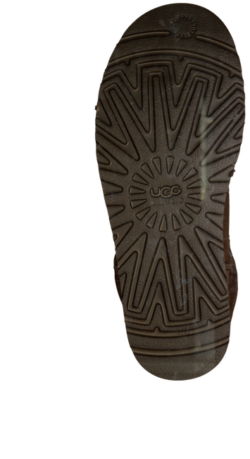 Cognac UGG Vachtlaarzen CLASSIC MINI  - large