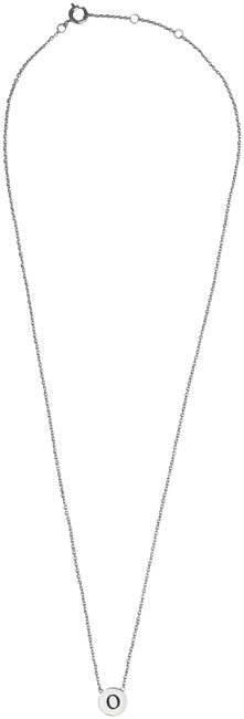 ALLTHELUCKINTHEWORLD Collier CHARACTER NECKLACE LETTER SILV en argent - large