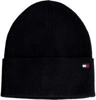 Zwarte TOMMY HILFIGER  Muts ESSENTIAL KNIT BEANIE  - medium