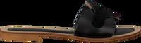 Zwarte NOTRE-V Slippers 18701  - medium