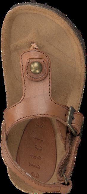 CLIC! Sandales CONGO en cognac - large